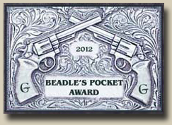 Winner of the GAMBLERS AND GUNFIGHTERS 2012 BEADLES POCKET Award